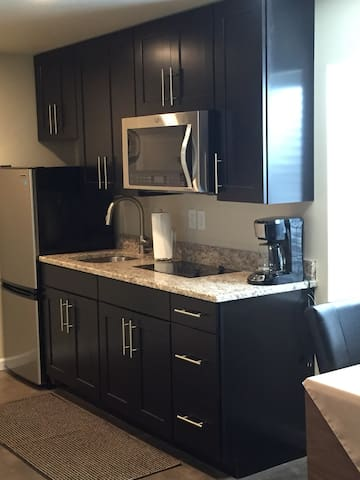 Kitchenette one BR apartment
