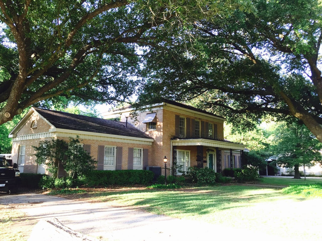Built in '49.  Beatiful wood floors on .97 acre wooded area.