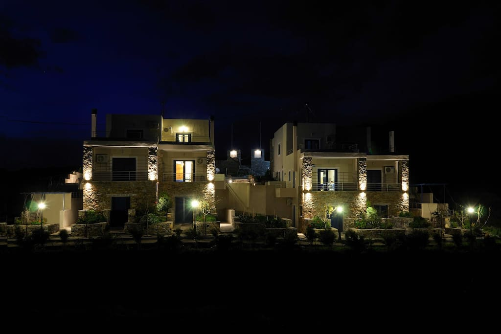 External view at night