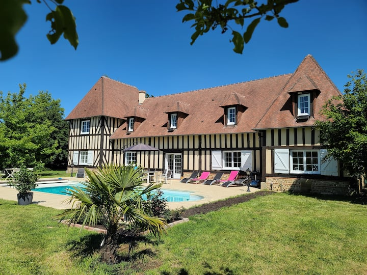 Lovely Traditional Normandy Manor