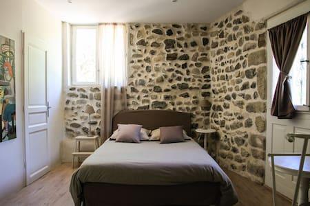 Chambre d'Hôtes avec salon privé - Aamiaismajoitus