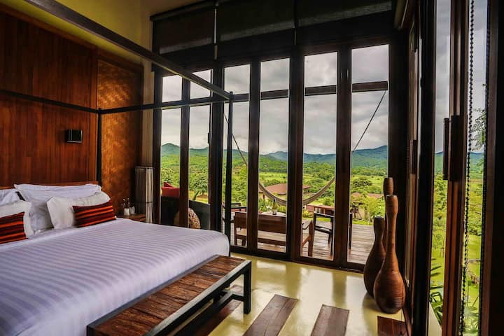 Romantic 1 BR Pool Villa in Pai!