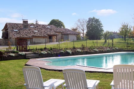 Country house with large pool - Agnac - Talo