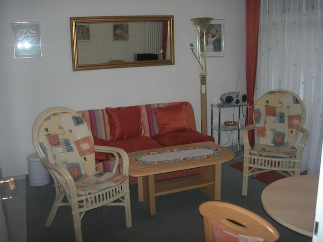 Appartement Haus Hamburg (Bad Füssing), Appartement 1 (35qm) mit Balkon