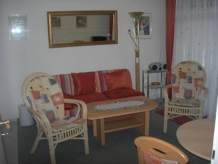 Appartement Haus Hamburg (Bad Füssing), Appartement 1 (35qm) mit Balkon