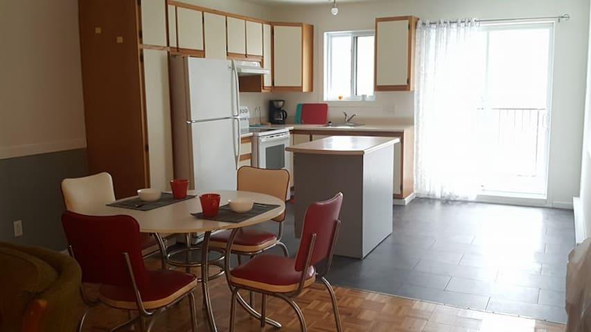 Grand appartement près de Montréal