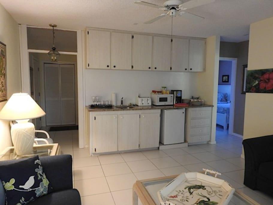 Küchenzeile - kitchenette