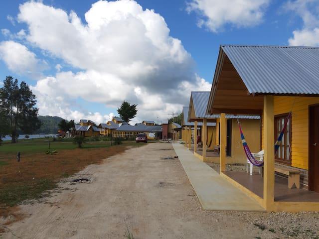 Cabañas Paraíso Tziscao para 4 personas