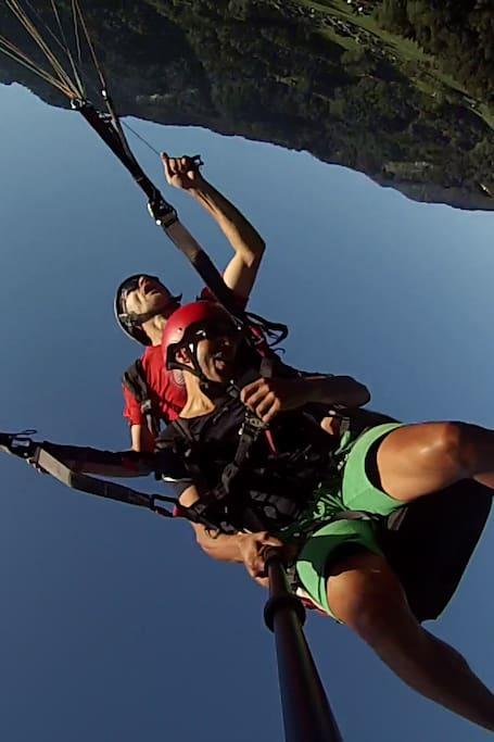 Possibilité d'acrobatie