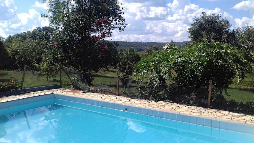 Casa de campo Lagoa dos Patos - Cláudio - Hytte