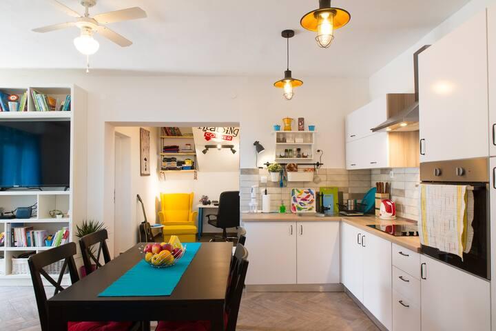 Cozy apartment near the beach - Albatros