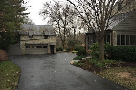 Carriage House on Estate Property - Akron