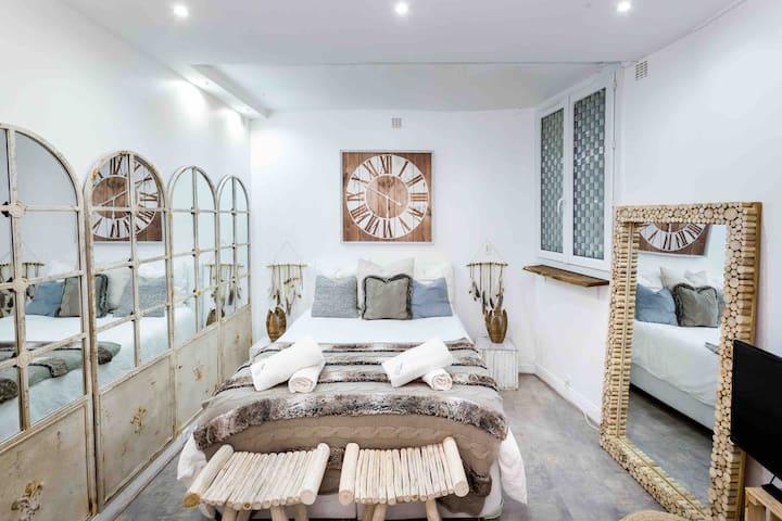 Cute & cosy studio in le Marais Hotel de Ville 2P