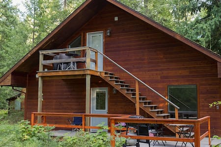 Escape to the Enchanted Forest. Treetop Chalet.