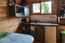la kitchenette fonctionelle