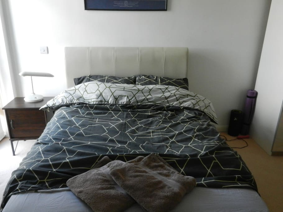 Large Bed and space
