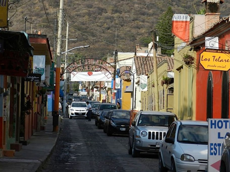 Street in Downtown Ajijic