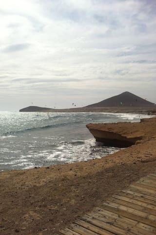 habitacion en duplex  Medano playa - El Médano - Huoneisto