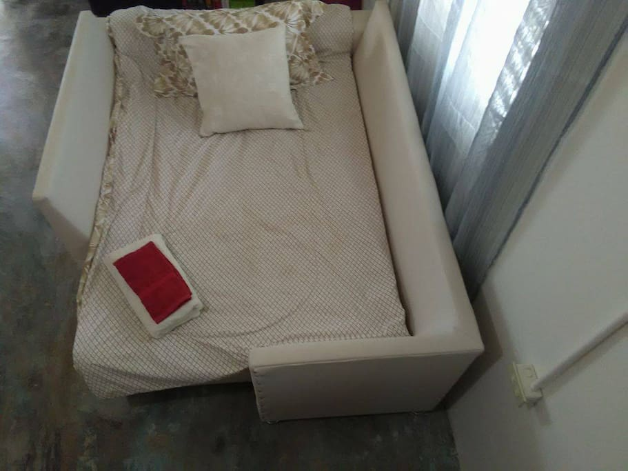Common area bed for 2