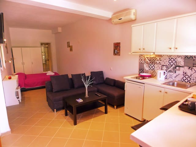 The palm garden aparments (2 adults and 2children) - Kerkira - Daire
