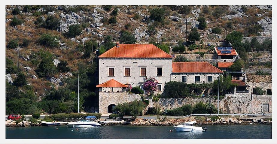 Historic seaside villa with swimming pool - Lozica - Villa