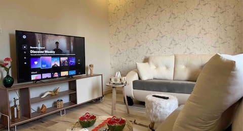 Chic One Bedroom Apt, Ar Rawdah