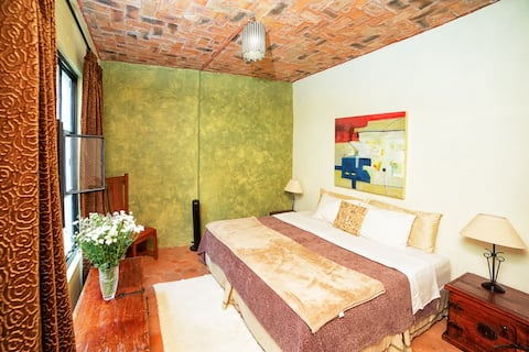 Casa Dorotea cuarto verde