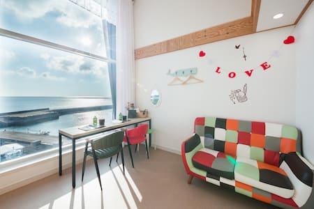 Duplex3, Pureuda Ocean 푸르다오션 (복층) - Hallim-eub, Cheju - Pension (Korea)