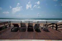 Flat Premium no Beach Class Muro Alto