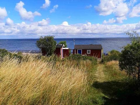 Gästhus, perfekt läge, strax utanför Båstad.