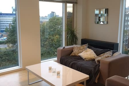 Bright and Modern Double Room with Friendly Host - Leeds