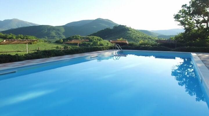 Montefeltro view house in Acqualagna_Maestrale