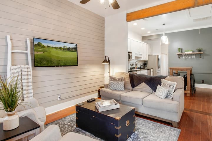 New Listing! Dreamy Townhome w/ Private Backyard