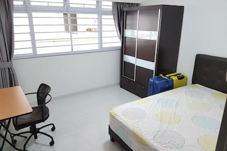 1 Comfortable and Clean bedroom at YewTee