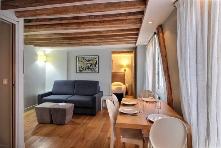Charmant appartement en plein cœur de Paris