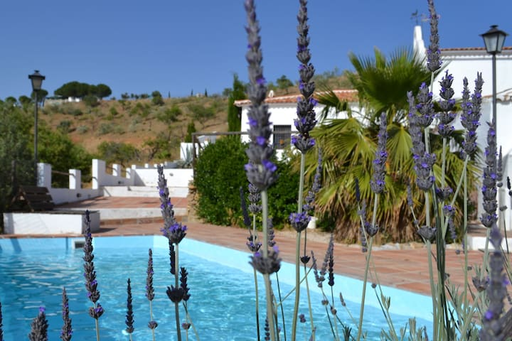 Andalusian villa with spectaculiar views, private pool and jacuzzi