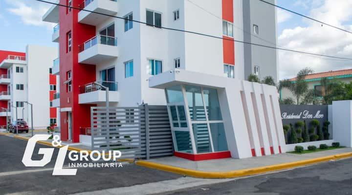 Residencial Don Mero, un espacio cómodo y seguro.