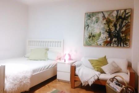 Habitacion privada con salón/TV/Wifi - Tres Cantos