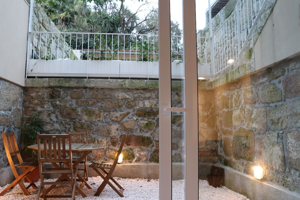 Our amazing and peaceful terrace.
