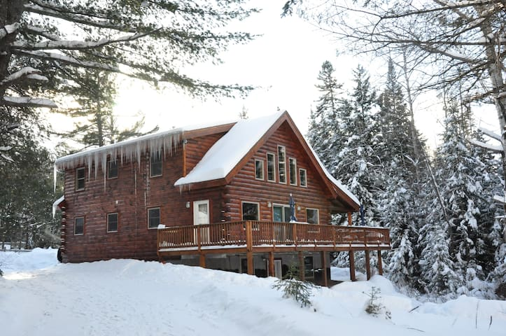 Beautiful Log House (Ninja)