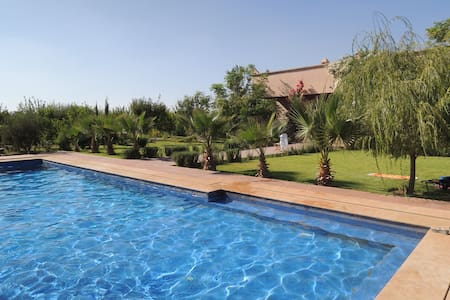 Magnifique villa vue sur l'atlas - 마라케쉬
