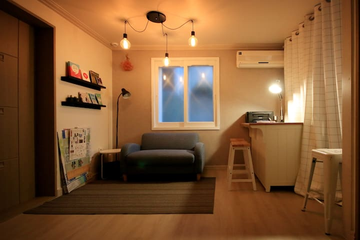 Flat House : Twin Room (2 Bed) - จุง-กู