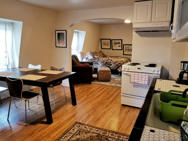 Downtown Lg 2nd Floor Studio w/Private Balcony