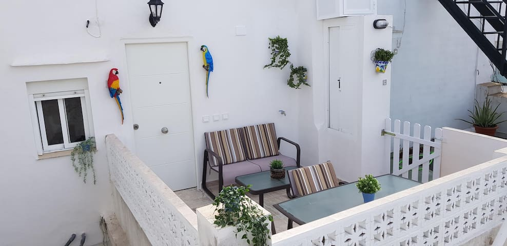 Luxury apartment with terrace at top location