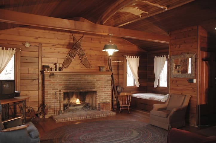 Four Mounds Inn - Cabin - Dubuque - Rumah