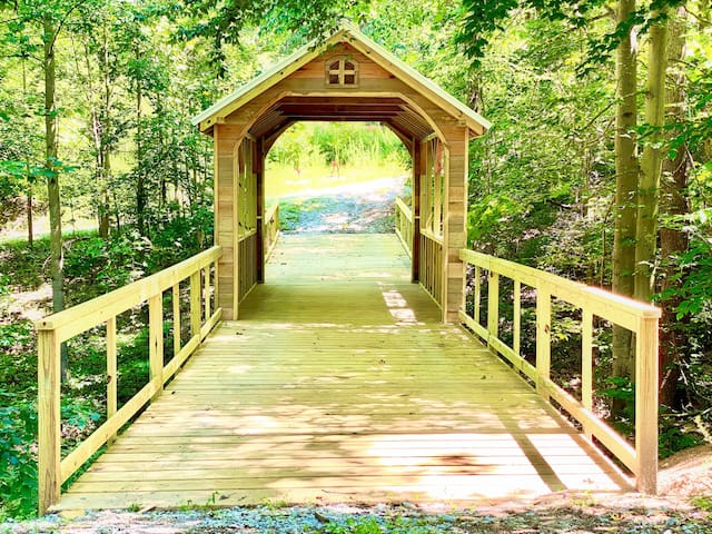 ✧ Bridge to Everwild ✧ Modern Nest at the Water's Edge