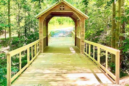 ✧ Bridge to Everwild ✧ Modern Nest at Water's Edge