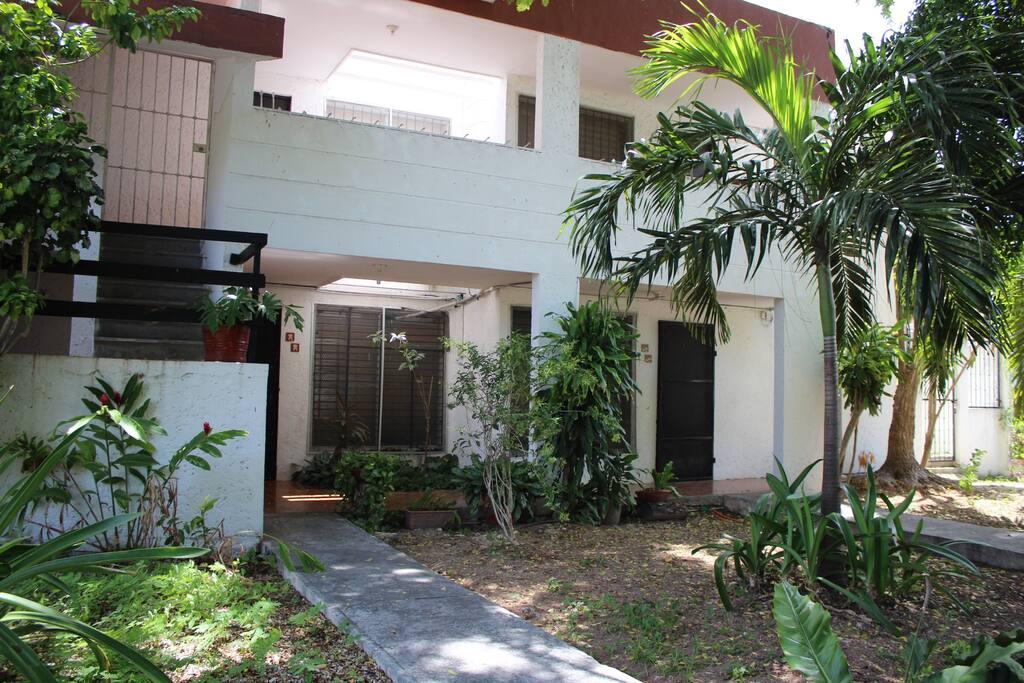 La casa con 4 departamentos