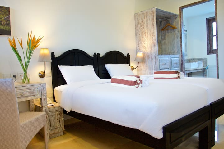 Superior Room with single beds in a Dive Resort - Manggis - Altro