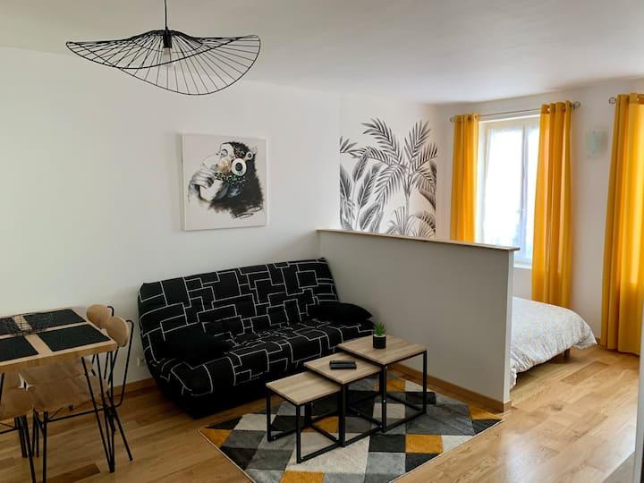 Bel appartement refait à neuf, face à la gare SNCF